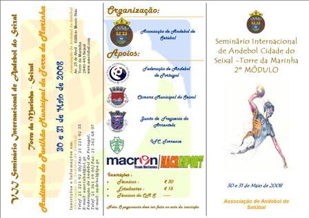 Seminário Internacional de Andebol Cidade do Seixal - Torre da Marinha