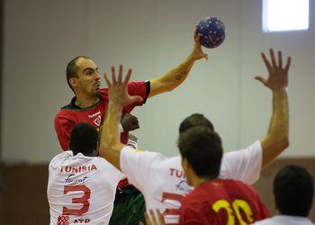 Portugal : Tunísia - Torneio Internacional de Elite - Claudio Pedroso - foto: Pedro Alves