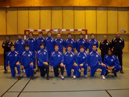 Selecção Nacional Junior A Masculina 2008-09