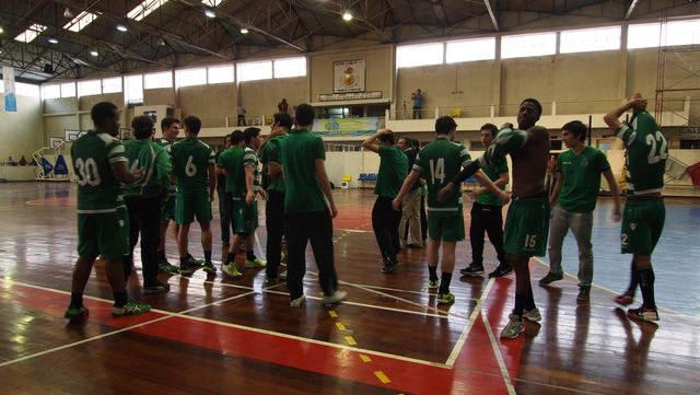 FC Gaia - Sporting CP - campenato nacional de Juniores Masculinos da 1ª Divisão 2014-2015 - foto: MxAgency - Paulo Mesquita