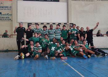 Sporting CP - campeão nacional de Juniores Masculinos da 1ª Divisão 2014-2015 - foto: MxAgency - Paulo Mesquita