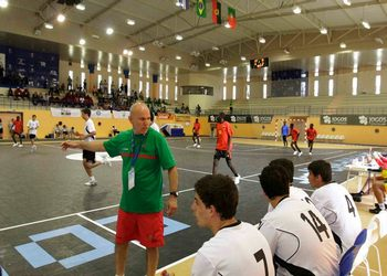 Nuno Trancoso - treinador de Portugal nos VIII Jogos da CPLP