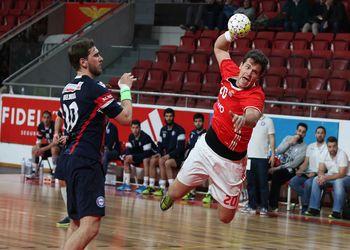 SL Benfica - AC Fafe - Campeonato Andebol 1 - Foto: Ricardo Rosado