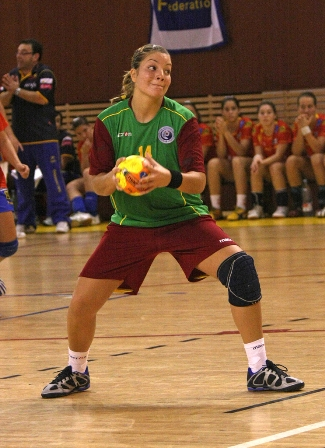 Scandibérico - Espanha : Portugal - Ana Pereira - Prémio de Melhor Marcadora