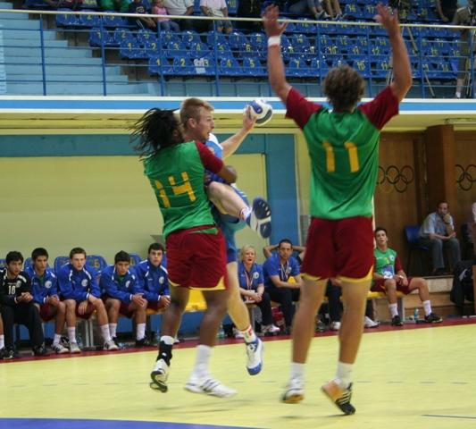 Campeonato Europeu Sub20 Masculino Roménia 2008 - Rússia : Portugal