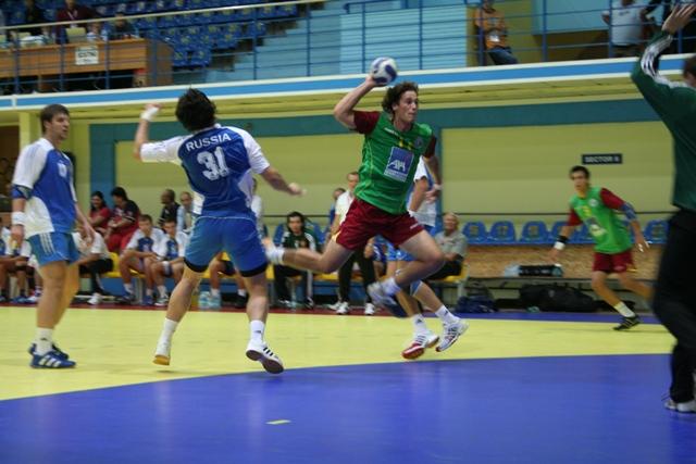 Campeonato Europeu Sub20 Masculino Roménia 2008 - Rússia : Portugal - João Antunes