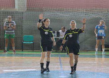 Árbitras Ana Silva e Ana Afonso