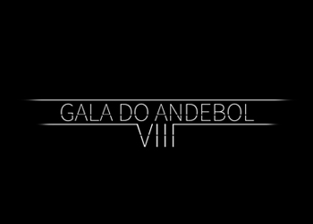 Logótipo VIII Gala do Andebol