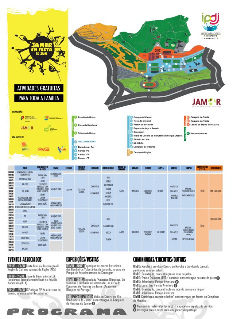 Jamor em Festa 2017 - flyer