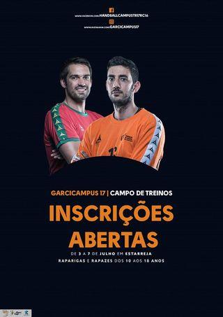 Cartaz GarciCampus com Ricardo Candeias e Tiago Rocha