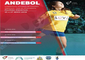 Cartaz - Fase de Apuramento Campeonato Nacional Juniores Femininos 2017/ 2018
