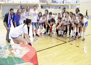 JAC-Alcanena - Campeão Nacional de Juniores Femininos 2017/ 2018 - foto: Luís Neves