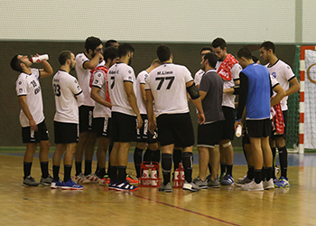 Equipa ISMAI - Campeonato Andebol 1 - Foto: PhotoReport.in