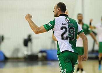 Valentin Ghionea - Águas Santas Milaneza : Sporting CP - Campeonato Andebol 1 - foto: PhotoReport.In