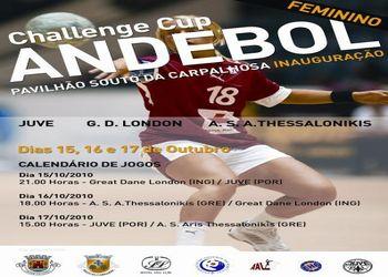 Cartaz Juvelis - Challenge Cup