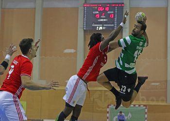 Sporting CP : SL Benfica - Campeonato Andebol 1 - foto: Ricardo Rosado