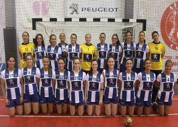 Plantel CS Madeira 2014/2015 - Campeonato Multicare 1ª Divisão Feminina