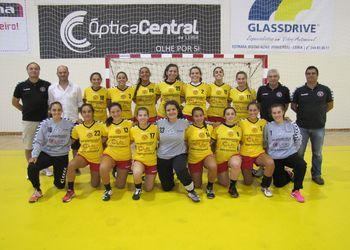 Plantel Juve Lis 2014/2015 - Campeonato Multicare 1ª Divisão Feminina
