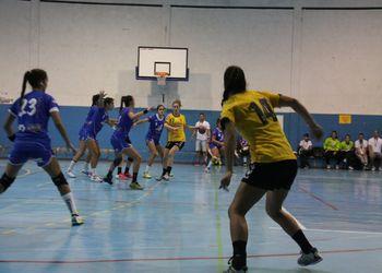 Colégio de Gaia - Toyota : Jac-Alcanena - Campeonato Multicare 1ª Divisão Feminina - foto: António Oliveira