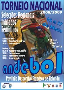 Cartaz Torneio Nacional Selecções Regionais Femininas