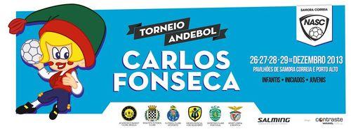 Cartaz do Torneio Carlos Fonseca 2013