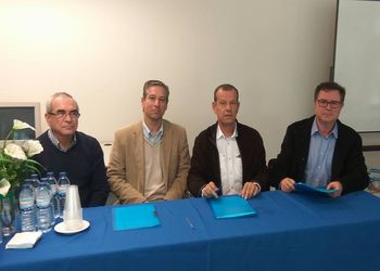 Assinatura Protocolo FAP, AA Algarve e Agrupamento Escolas Dr. Francisco Fernandes Lopes