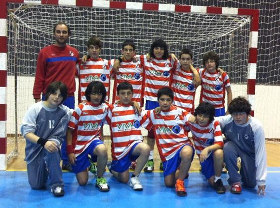 Sp. Horta - Campeão Regional de Infantis Masculinos