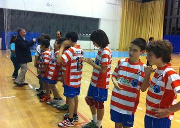 Ulisses Pereira na cerimónia de encerramento do Campeonato Regional de Infantis Masculinos na Horta
