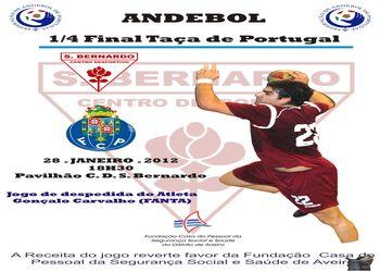 Cartaz CD S.Bernardo - FC Porto - Taça de Portugal - 28.01.12