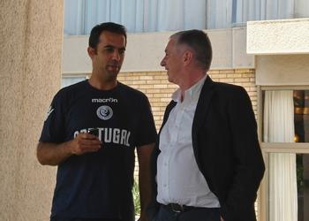 Ulisses Pereira e Ricardo Andorinho em Skopje