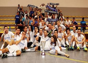 CD Feirense - campeão nacional juniores masculinos 2.ª divisão