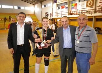 Juve Mar - campeão nacional 2.ª divisão feminina