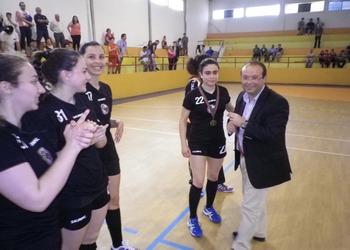 Juve Mar 2 - campeão nacional 2.ª divisão feminina