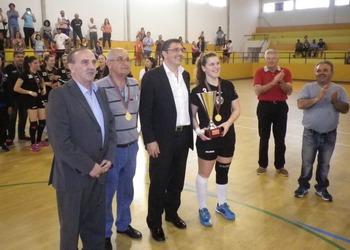 Juve Mar 1 - campeão nacional 2.ª divisão feminina