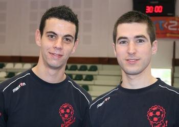 Daniel Freitas e César Carvalho (árbitros)