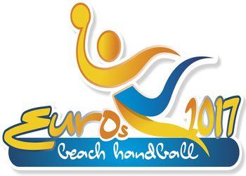 Logo 8º Campeonato da Europa de Andebol de Praia Sub17