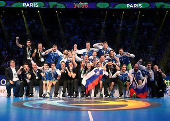 Eslovénia - Medalha de Bronze - Mundial Seniores Masculinos França 2017