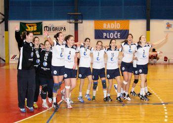 Selecção Nacional Juniores B femininas - vencedora do 6º Campeonato do Mediterrâneo