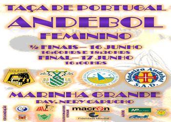Cartaz Taça de Portugal Seniores Femininos 2011-12