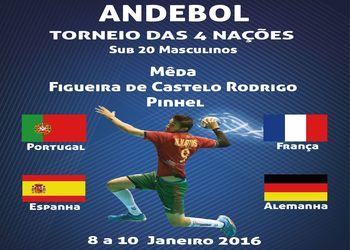 Torneio 4 Nações - 8 a 10 Janeiro 2016