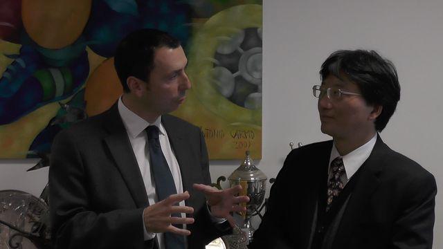 Visita do Embaixador Abel Lin do Centro Económico e Cultural de Taipei