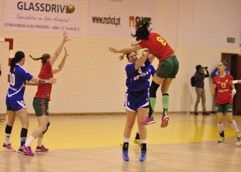 Portugal - Finlândia - Vera Lopes - II Torneio Internacional de Leiria - foto: Marco Serpa