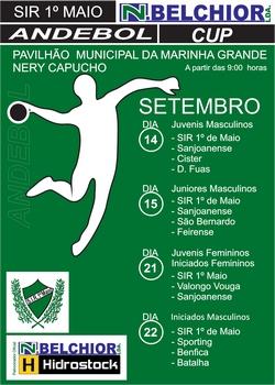 Cartaz 1.º Torneio SIR 1.º de Maio - 2013