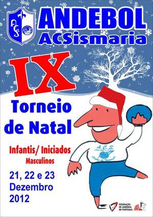 Cartaz IX Torneio de Natal – AC Sismaria