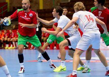 Fase do jogo Portugal-Noruega - Europeu Sub18 - Croácia