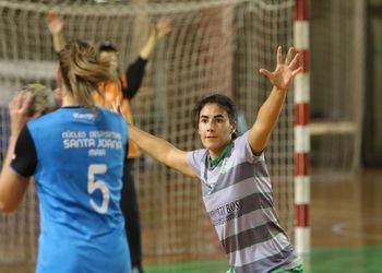CA Leça : ND Santa Joana-Maia - Campeonato 1ª Divisão Feminina - foto: António Oliveira