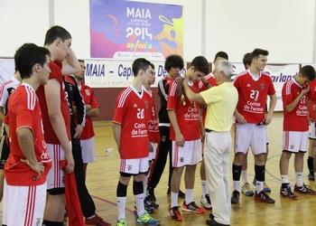 Camp. Nacional Iniciados Masculinos - Entrega prémios SL Benfica