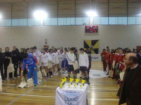Torneio das 4 Nações - Entrega de Prémios