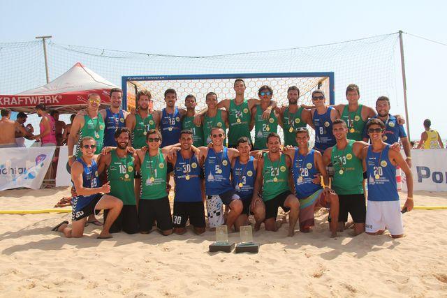Os Gordos/apostaganha.pt - Clube Naval Leça  - campeões nacionais Masters Masculinos