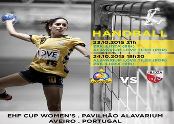 Cartaz Alavarium Love Tiles : ZRK Ilidza - EHF Cup